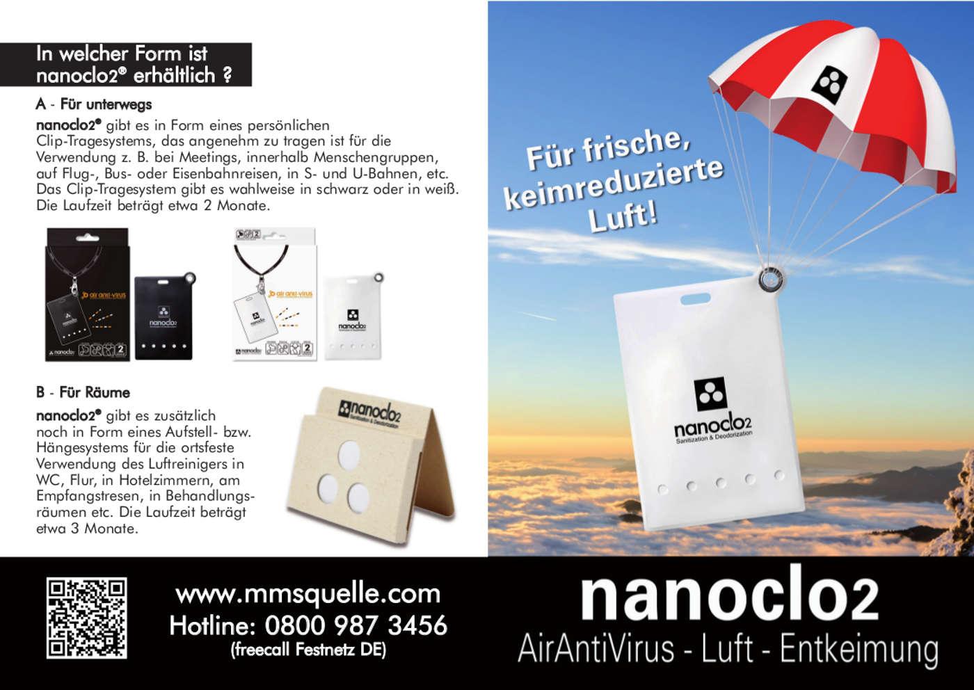 NanoClo2 Faltblatt Seite 2