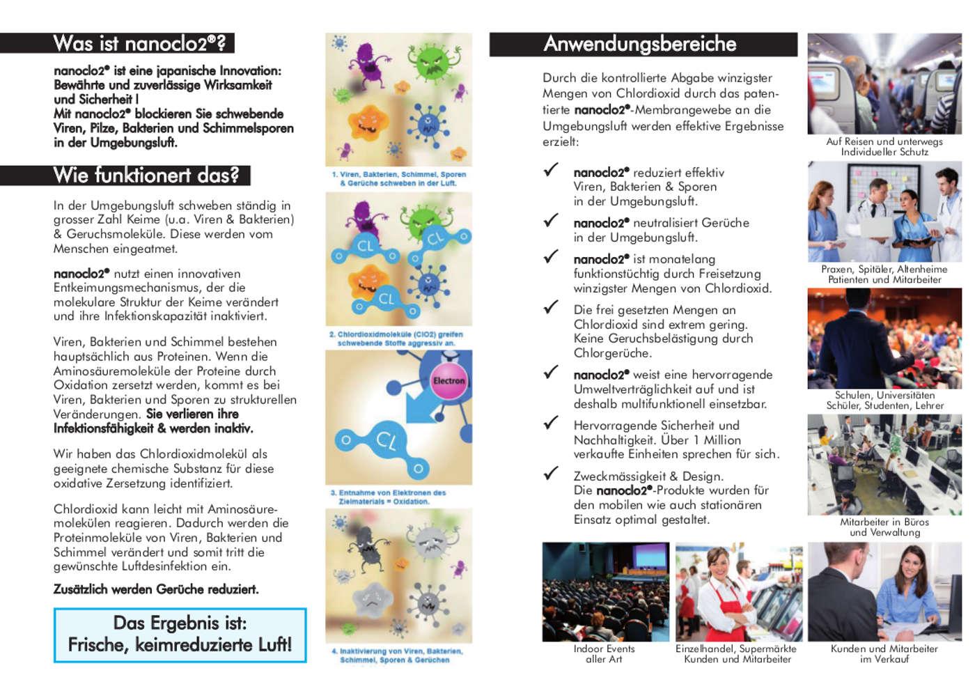 NanoClo2 Faltblatt Seite 1